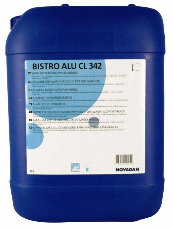 Image of   Maskinopvask Bistro Alu CL 342 - med klor Klorineret 20l