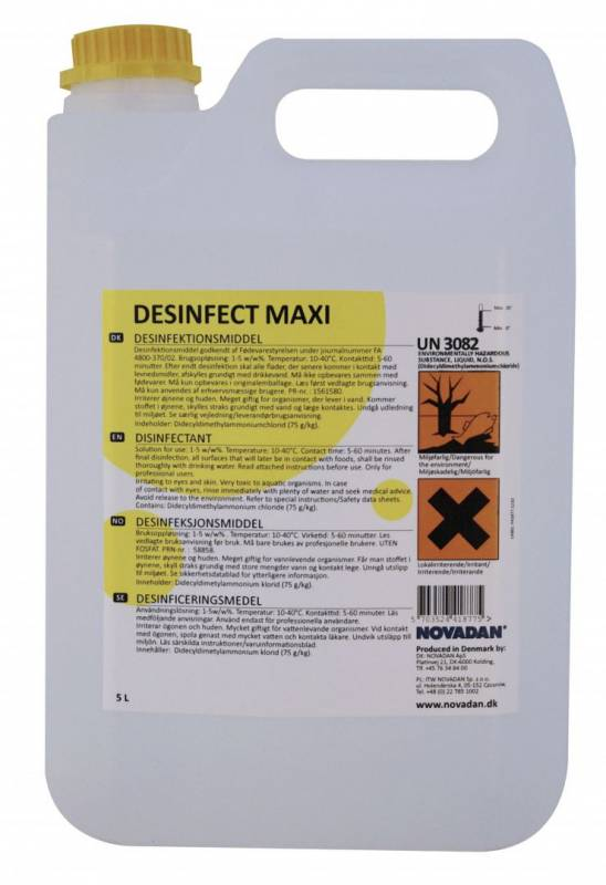 Image of   Desinfektion Desinfect Maxi 5l