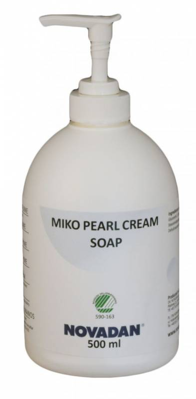 Image of   Cremesæbe MIKO Pearl Cream Soap 500ml