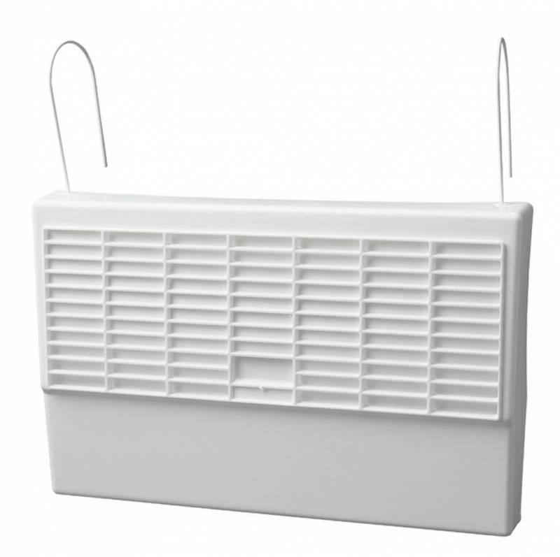 Image of   Radiator vandfordamper 26x40x5, hvid