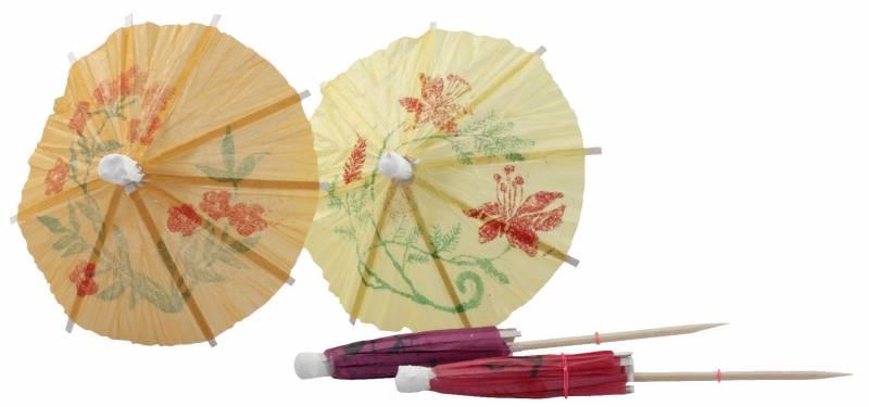 Image of   Japanske parasoller 100mm 144stk/pak