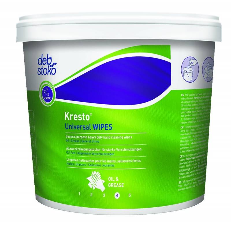 Image of   Håndrens Kresto Universal Wipes 150stk/ds UNV150W