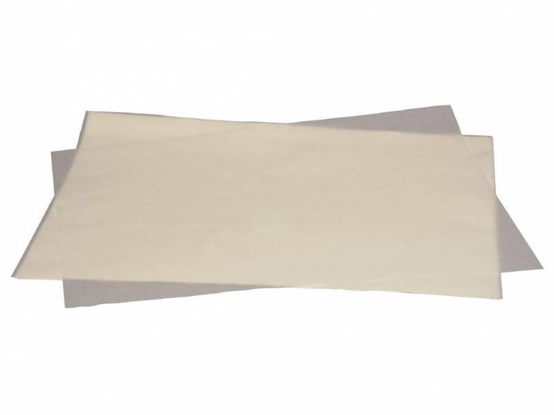 Billede af Bagepladepapir silicone 45x60cm 41g/m2 500stk/pak