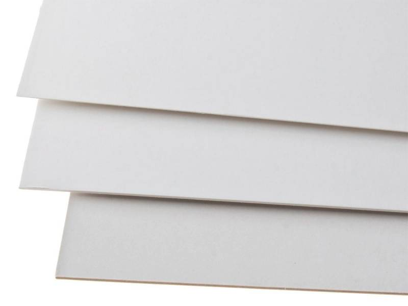 Image of   Skilte hvid A6 350g 890H02 10,5x14,8cm 100stk/pak