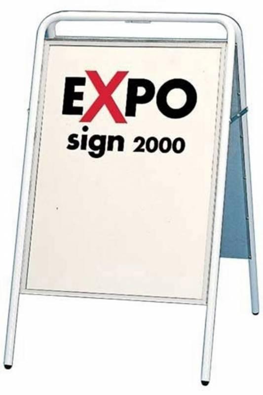 Image of   Gadeskilt Expo sign 3313 hvid 50x70cm