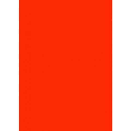 Image of   Skiltepapir rød neon 50x70cm 100ark/pak 85g