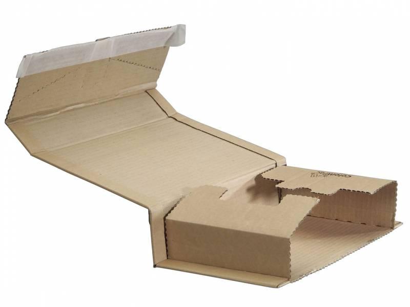 Billede af Bogpack m/limlukning 20.06 270x190x10-80mm brun