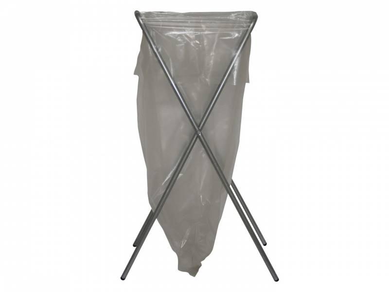Billede af Affaldsstativ Flexus Simplex galvaniseret stål m/gummifød