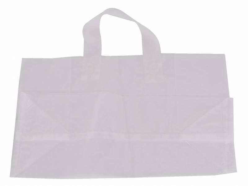Bærepose plastik Take away firkantet 250stk/kar
