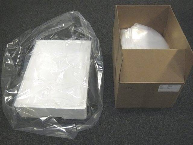 Image of   Plastikposer t/skumkasser klar 620/200x630x0,05mm 250stk/kar