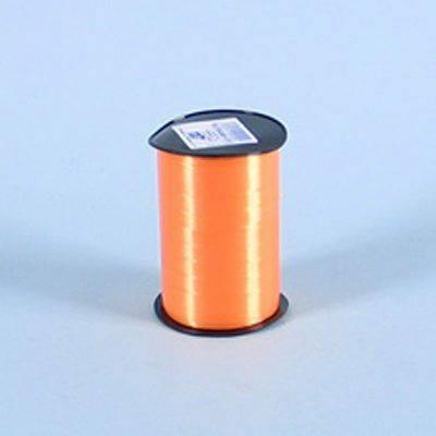 Billede af Gavebånd glat orange 10mmx250m nr. 09