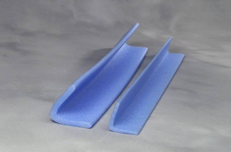 PE-profiler L 75x75 blå 105x2m = 210m/kar 10mm godstyk