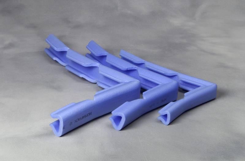 PE-profiler U 15-25 multi blå V-cut 250m/stk