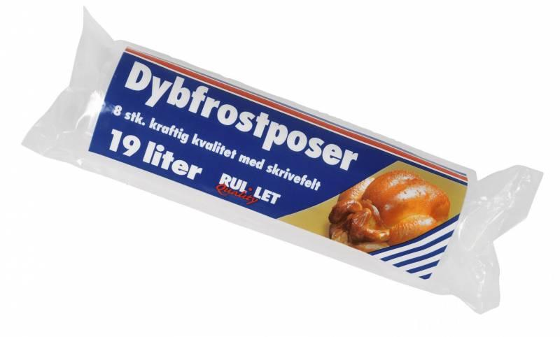 Image of   Fryseposer Rul-let 19l 35x60cm m/skrivefelt 8ps/rl