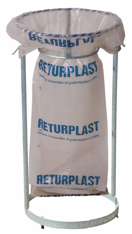 Image of   Affaldssække Returplast klar 850x1550mm