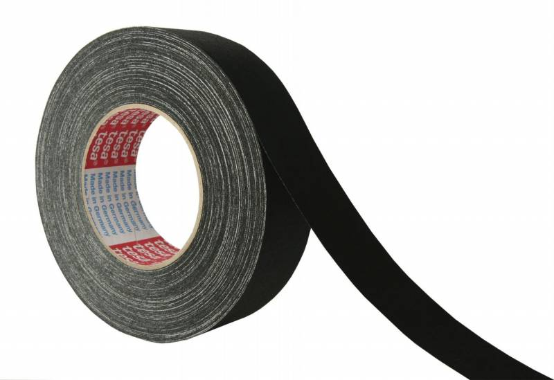 Tape tesa lærred sort 38mmx50m 4671