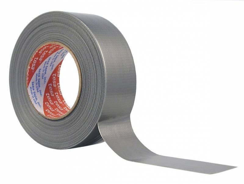 Image of   Tape tesa lærred sølv 48mmx50m 4662
