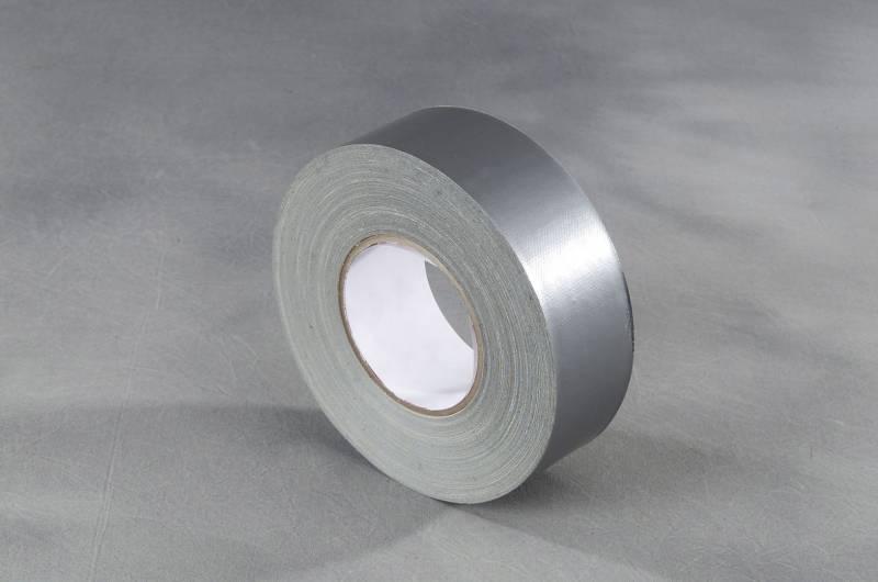 Image of   Tape lærred sølv 48mmx50m