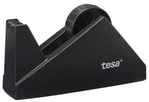 Billede af Tapedispenser sort bordmodel tesa easy cut max.25mmx66m