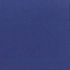 Image of   Servietter Duni 3-lags mørkeblå 24cm 2000stk/kar