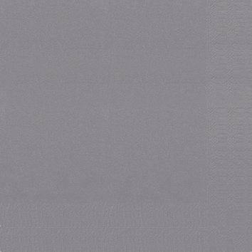 Image of   Servietter Duni 3-lags granit grå 24cm 2000stk/kar