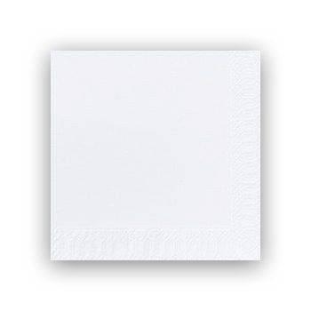 Billede af Servietter 3-lags Duni hvid 33cm 1000stk/kar