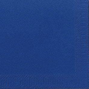 Image of   Servietter Duni 3-lags mørkeblå 40cm 1000stk/kar