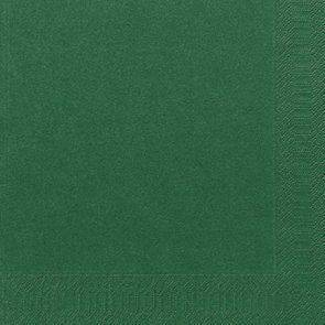 Image of   Servietter Duni 3-lags mørkegrøn 40cm 1000stk/kar
