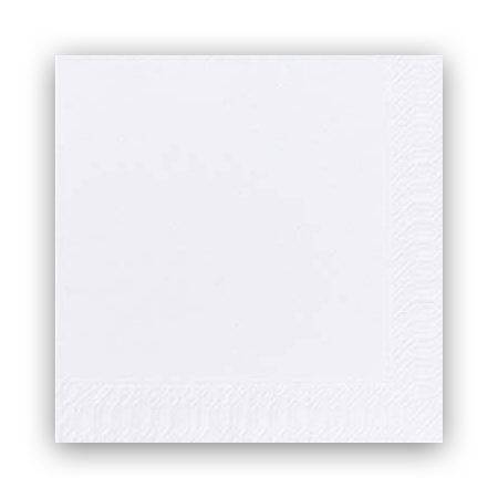 Image of   Servietter Duni 2-lags hvid 33cm 2000stk/kar