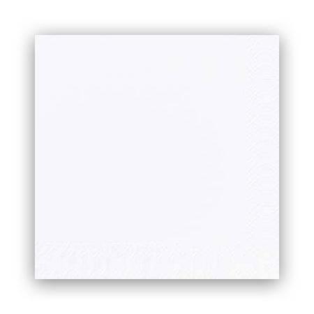 Image of   Servietter Duni 3-lags 1/8fold hvid 40cm 1000stk/kar.