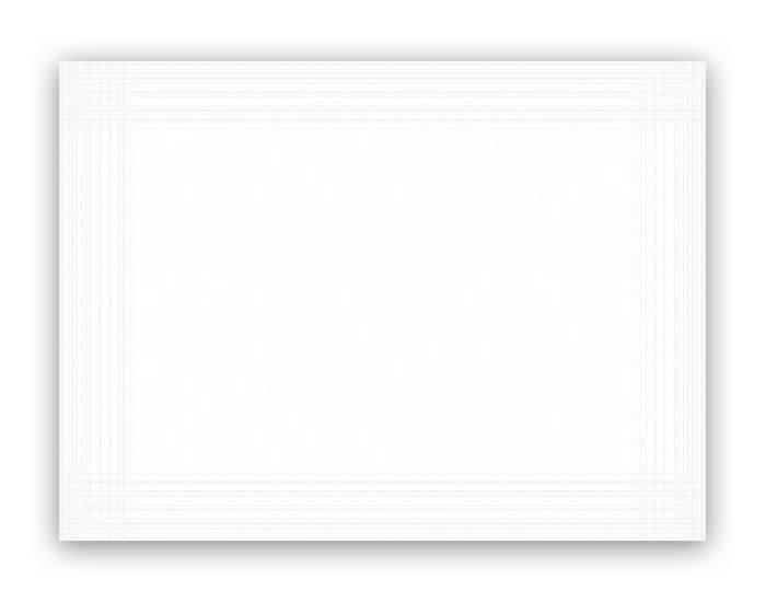 Billede af Dækkeservietter Dunicel hvid 30x40cm 100stk/pak