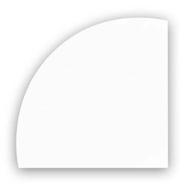 Billede af Dug Dunicel rund hvid Ø180cm 20stk/karton