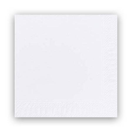 Image of   Servietter Duni 2-lags hvid 33cm 1200stk/kar