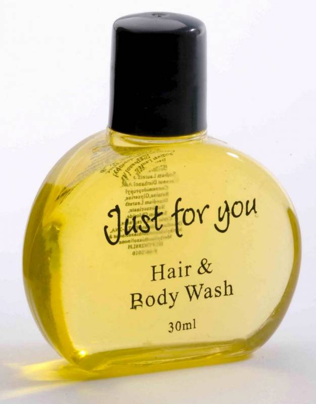 Image of   Hair & body wash 30 ml 100stk/kar Just for you