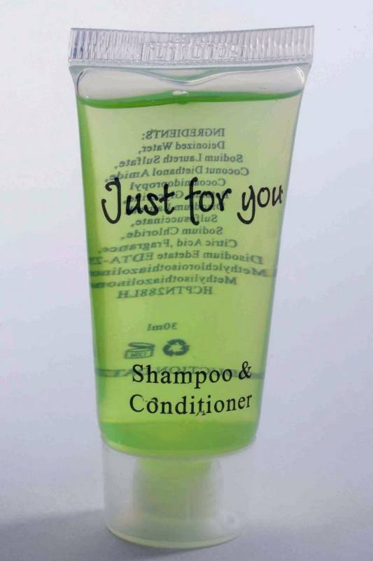 Image of   Shampoo/Conditioner 20ml tube 100stk/kar Just for you