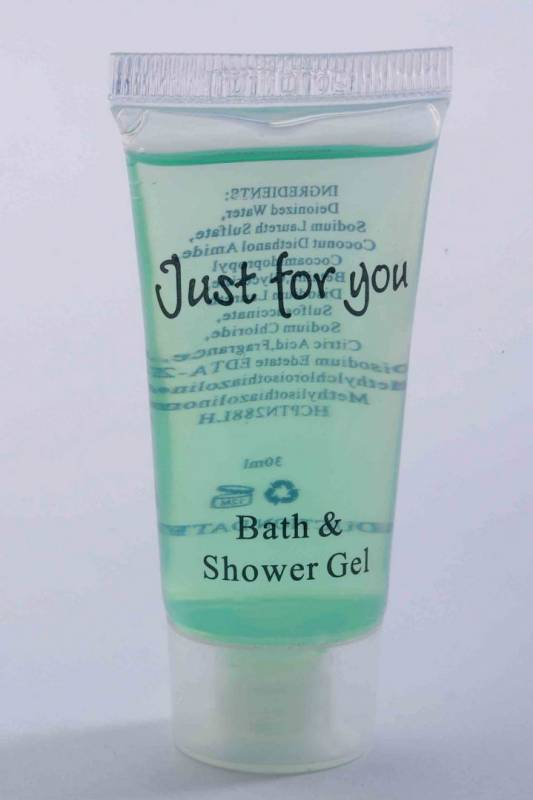 Image of   Bath & shower gel 20ml tube 100stk/kar Just for you