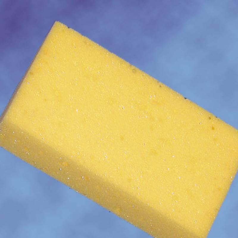 Billede af Tavlesvamp gul 20x11x6cm