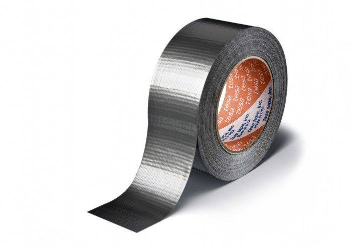 Image of   Tape tesa lærred grå 48mmx50m 4613 Duct tape 180