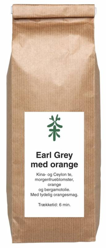 Image of   Te Earl Grey Orange Orchide 250g/ps løs