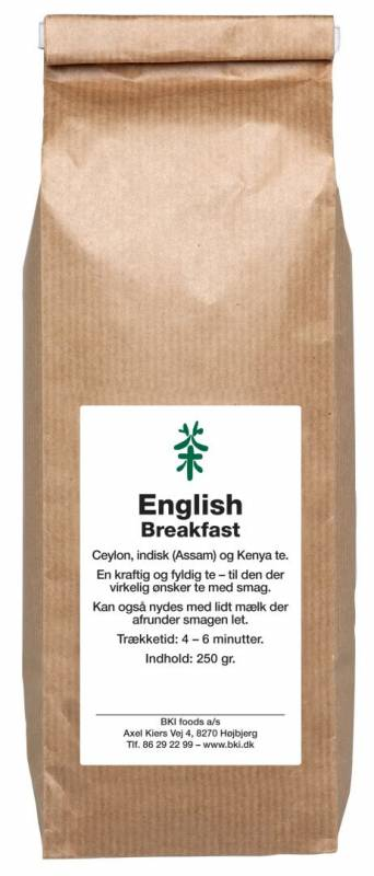 Image of   Te English Breakfast 250g/ps løs