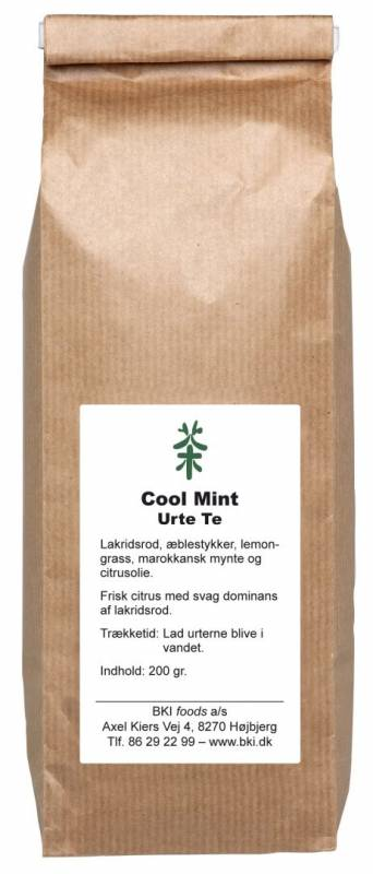 Image of   Te Cool Mint Urte 200g/ps løs