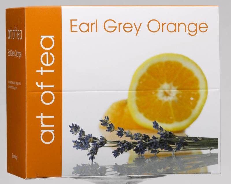 Image of   Te Earl Grey Orange Art of Tea 30 breve/pak