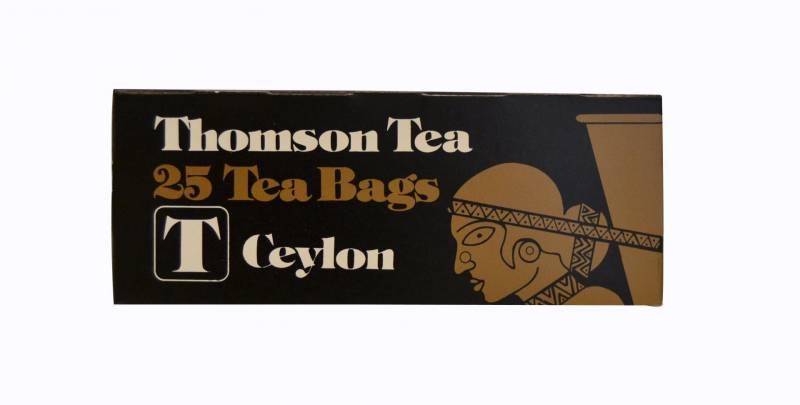 Te Lipton Thomson Ceylon 25breve/pak (enkelt pakke)