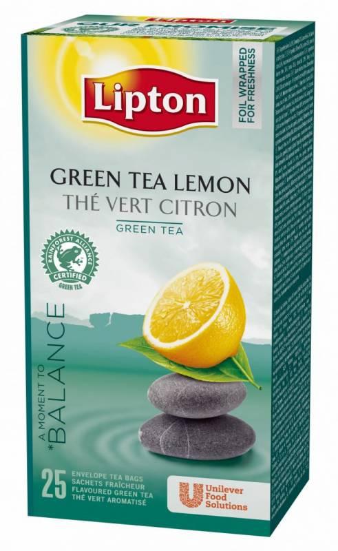 Image of   Te Lipton Citrus 25breve/pak (enkelt pakke)