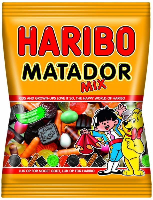 Billede af Matador Mix Haribo 135g 42ps/pak