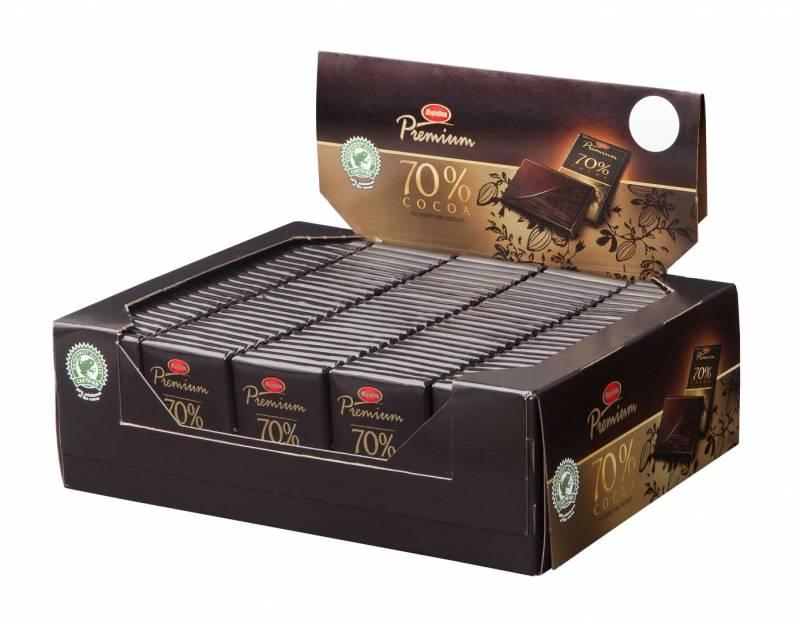 Image of   Chokolade Marabou Premium 10g 120stk/pak