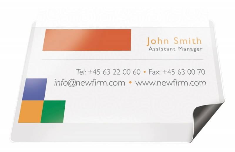Billede af Magnetlomme til mærkater 55x102mm m/etiketter