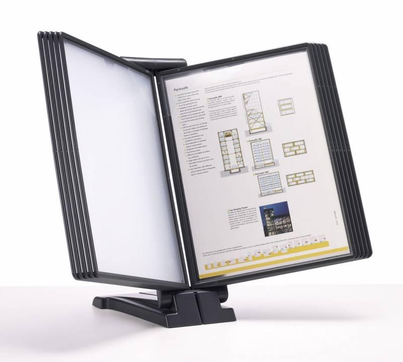 Billede af Registersystem A4 QuickFind gr.modul antracit t/10 lommer