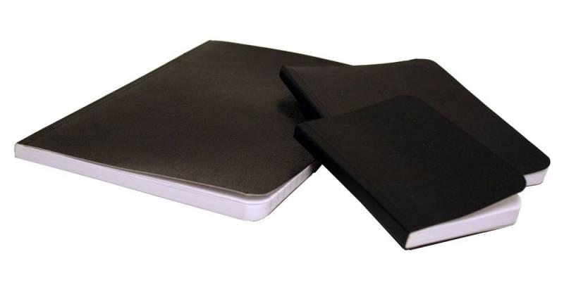 Image of   Notesbog voksdug linjeret A6 72 blade
