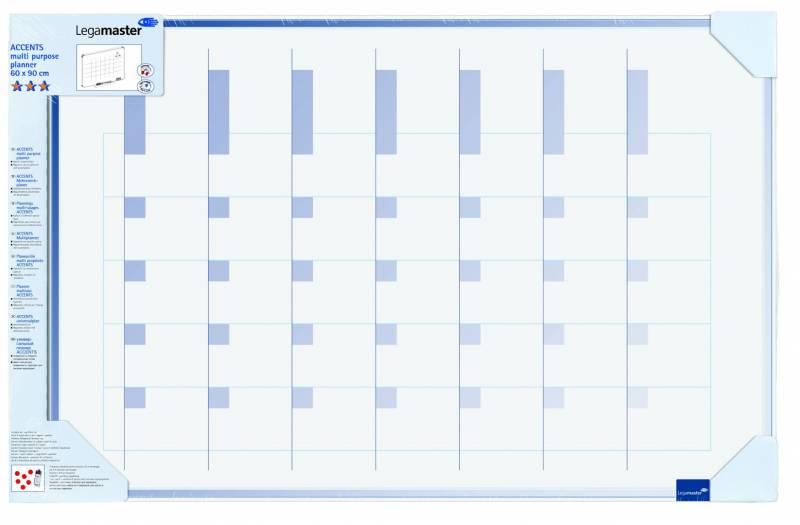 Image of   Planlægningstavle Legamaster Multiplanner 4905 600x900mm